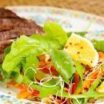 Salada para acompanhar o churrasco