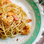 Espaguete, camarão e o tempero perdido