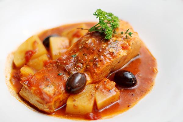 receita de salmão ao molho
