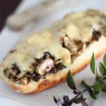 Na Cozinha da Alice # 7 – Bruschetta de cogumelos