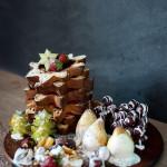 Vídeo receita: Uma bela sobremesa para as festas.