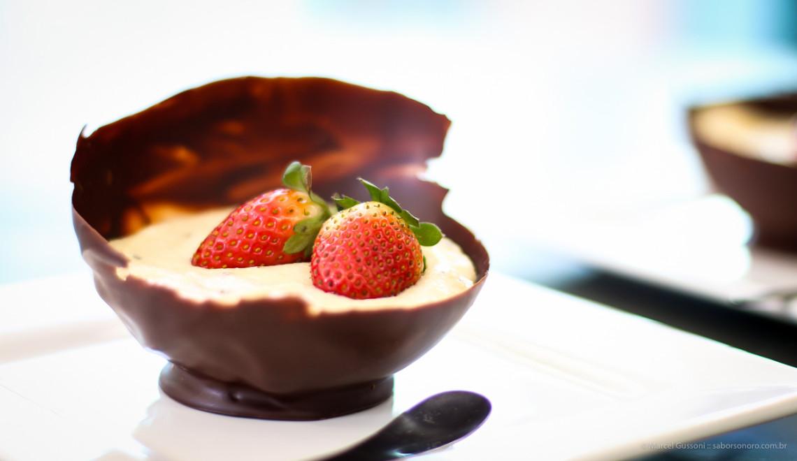 casquinha de chocolate bexiga