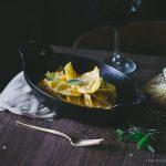 Ravioli de abóbora e queijo