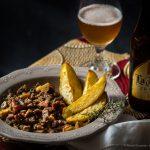 Picadinho de Alcatra com Cerveja
