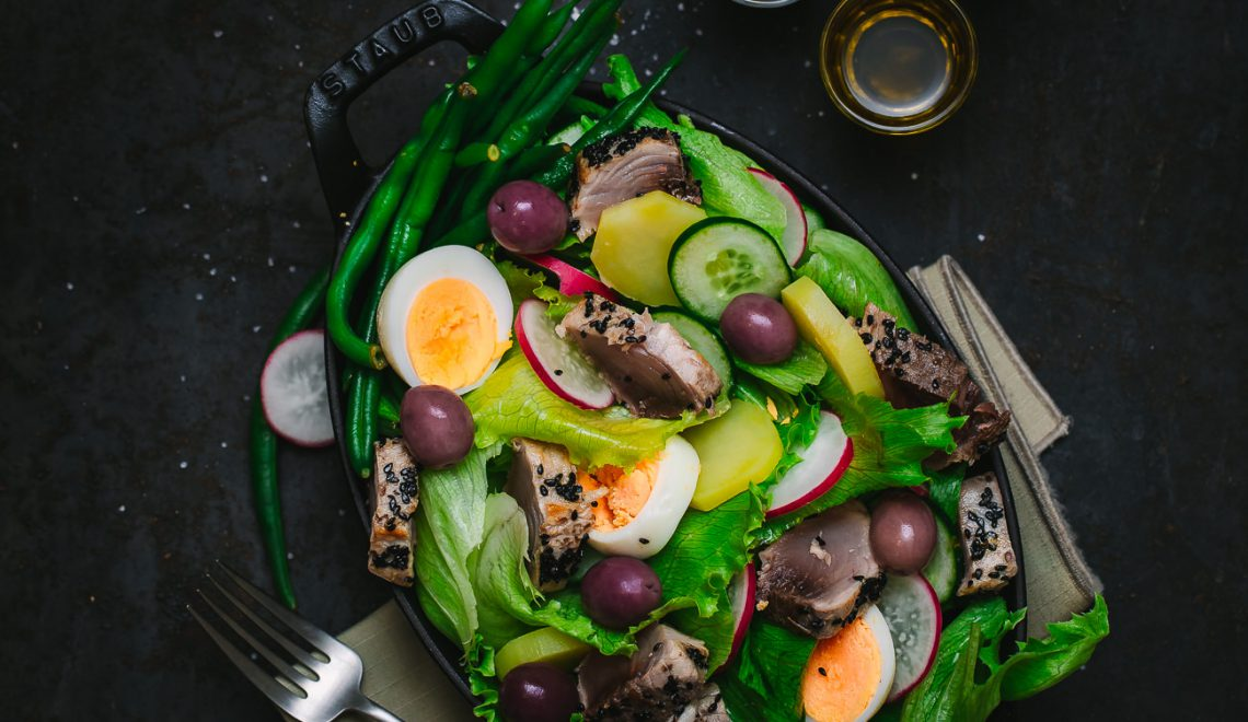 Salada Nicoise - receita