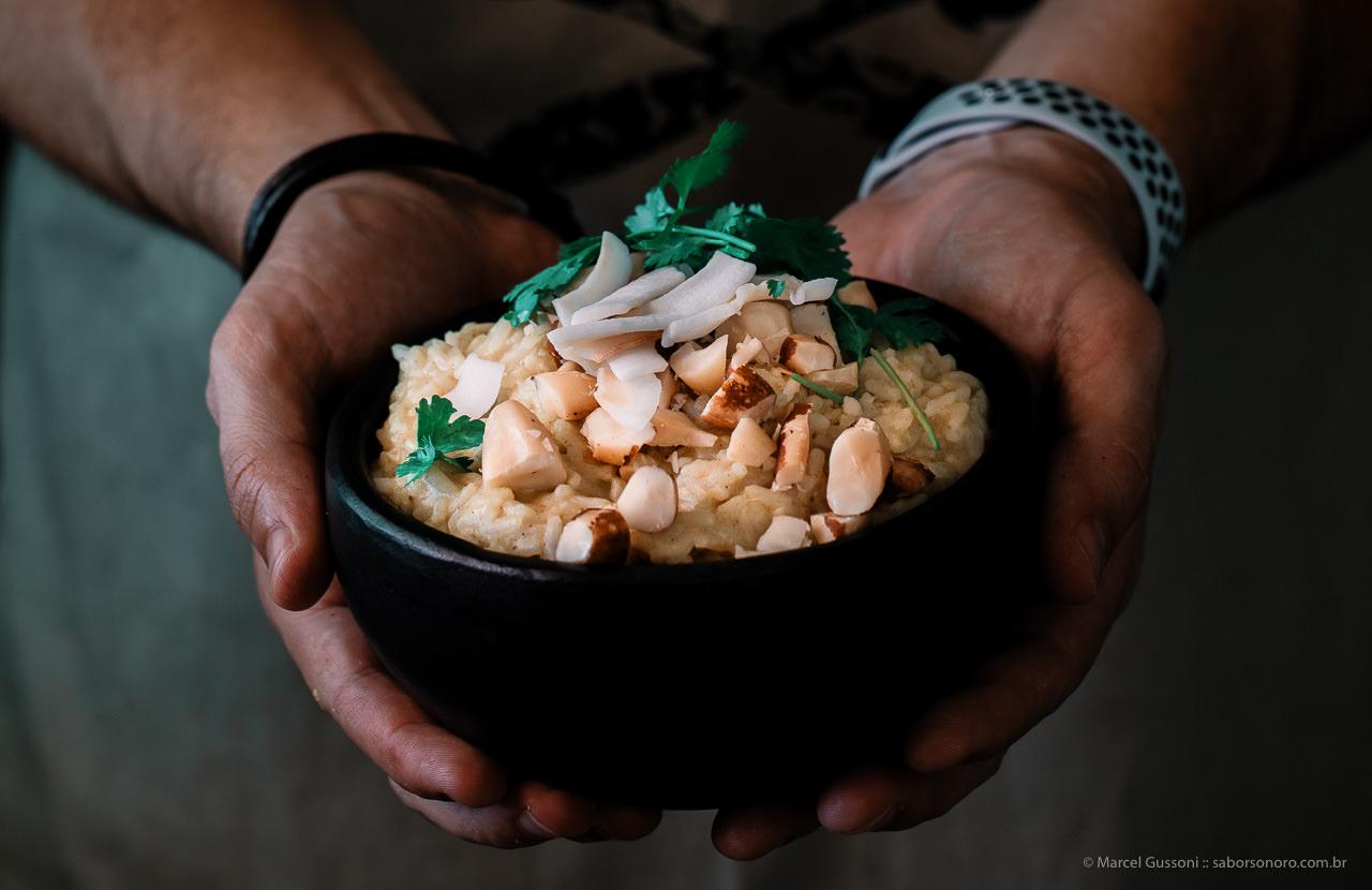 arroz cremoso - receita