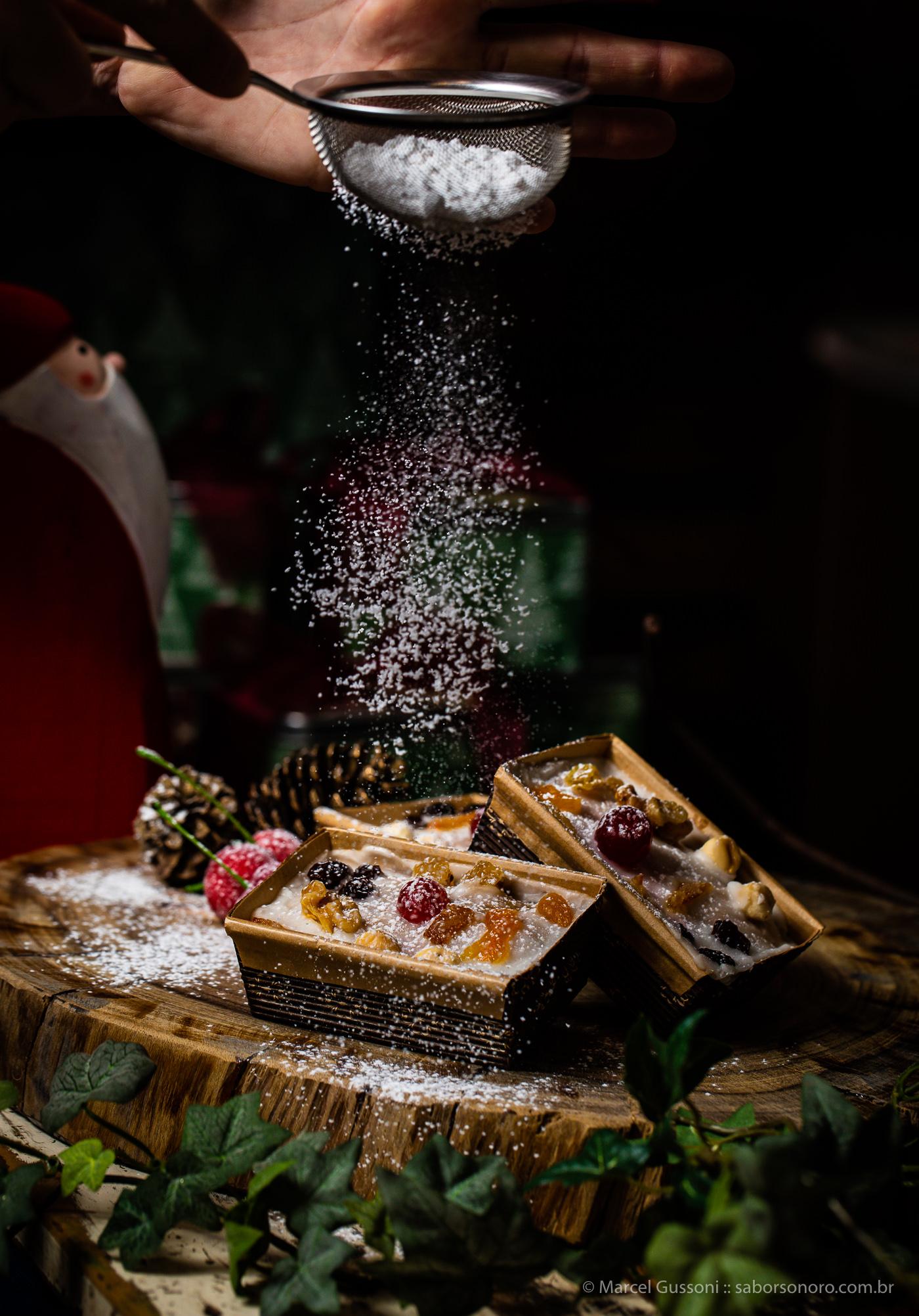 Bolo de Natal - Receita