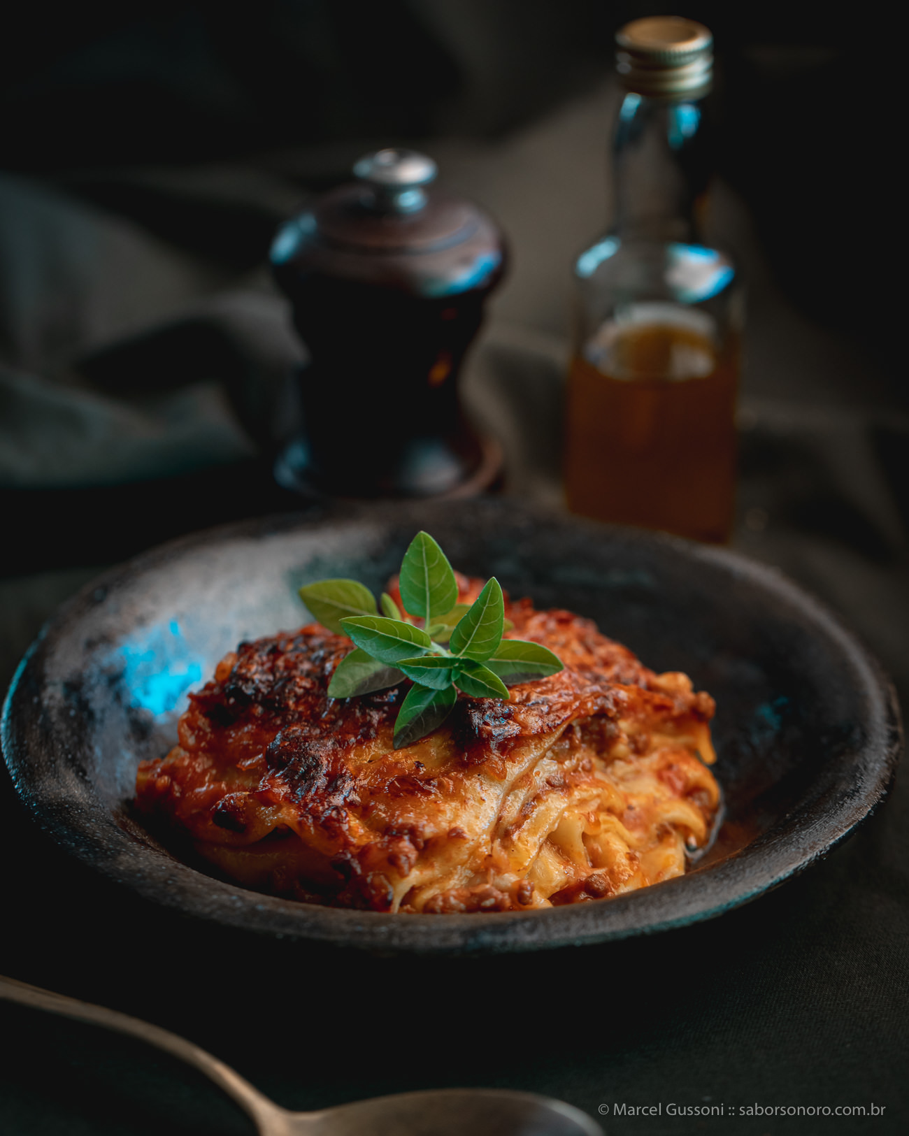 lasanha bolonhesa receita