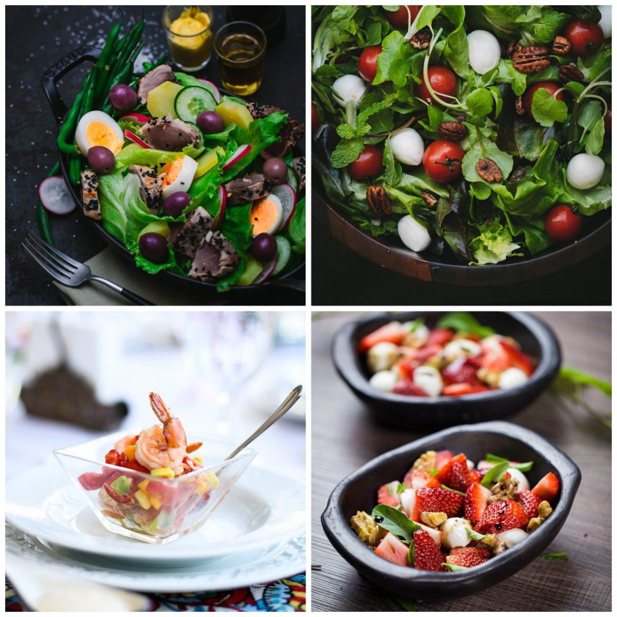 receitas para o dia das mães - saladas